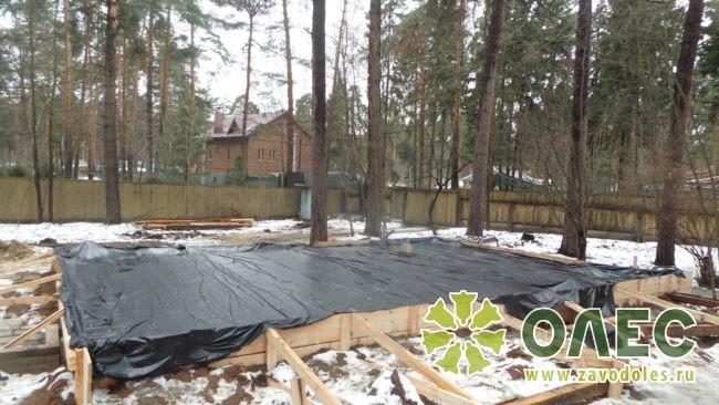 Проект дома из клееного бруса Кленовый 12