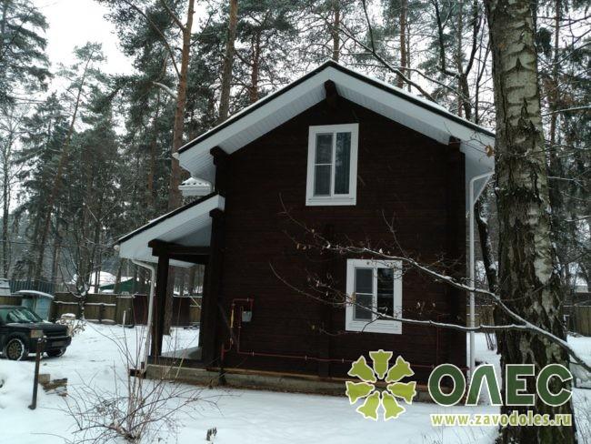 Проект дома из клееного бруса Кленовый 37