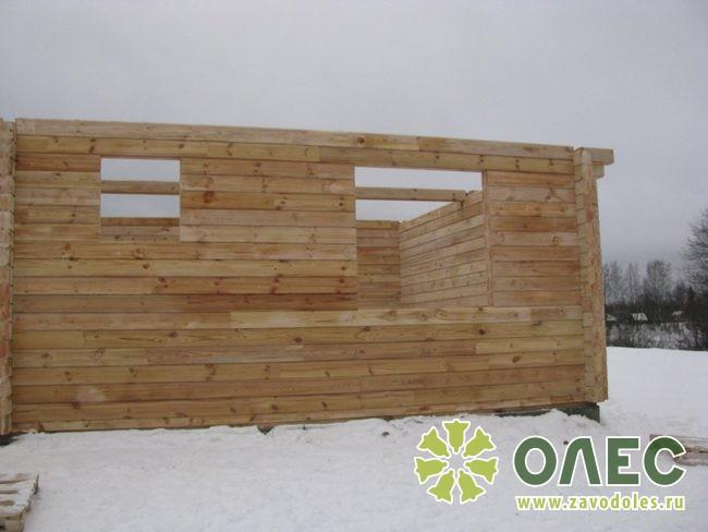 Проект дома из клееного бруса Лирика 14