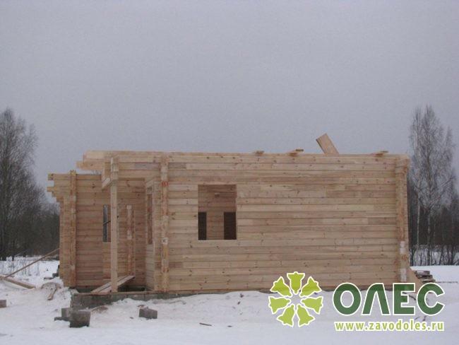 Проект дома из клееного бруса Лирика 16